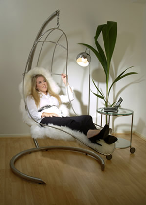 Dorry in Nirvana Chair